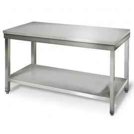 TABLE INOX L 1800 x P 700 x H 850 mm