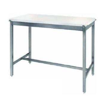 TABLE de travail en inox 200 cm