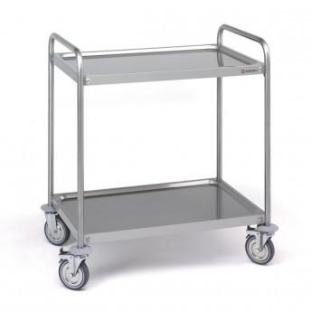 chariot de transport 2 étagères