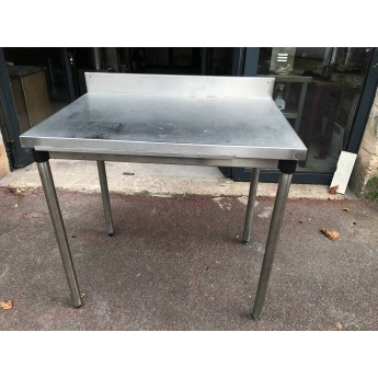 TABLE INOX 60 x 60 cm