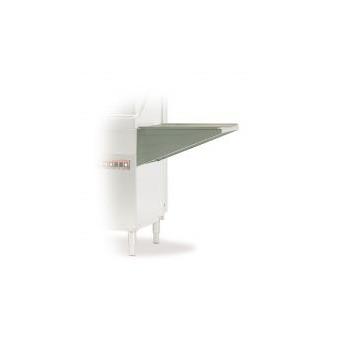 Table latérale sans pieds pour lave vaisselle à capot