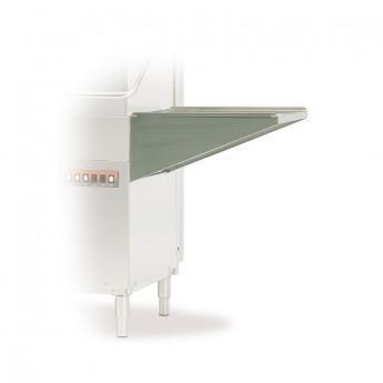 Table latérale avec dosseret pour lave-vaisselle