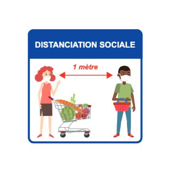 Panneaux d'informations - Visuel magasin