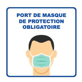 Panneau d'informations - Visuel masque Panneau Perforé (grand format)
