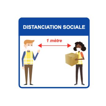 Panneau d'informations - Visuel manutention Panneau Perforé (petit format)