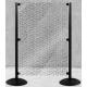 Panneau de séparation -Kit d'extension avec 1 poteau + panneau H-1400x1000 mm