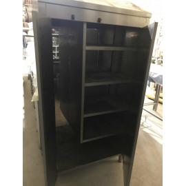 Armoire inox de rangement 2 portes